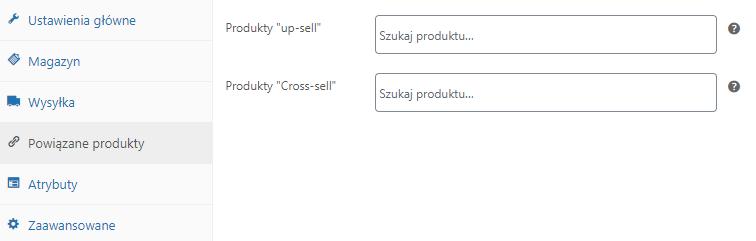 powiązane produkty sklep internetowy